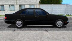 Mercedes-Benz E420 (W210) (Restyle) (устаревшая версия) (1.5.9) - City Car Driving мод (изображение 2)