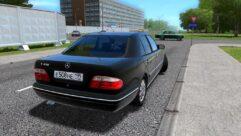 Mercedes-Benz E420 (W210) (Restyle) (устаревшая версия) (1.5.9) - City Car Driving мод (изображение 3)