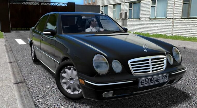 Mercedes-Benz E420 (W210) (Restyle) (Fixed) (1.5.9) - City Car Driving мод
