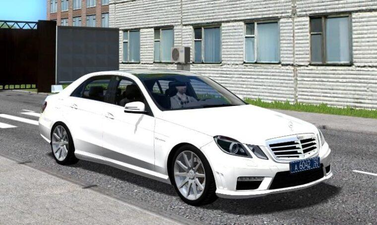 Mercedes-Benz E63 AMG (1.5.9) - City Car Driving мод