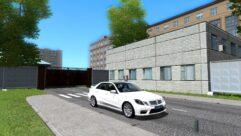 Mercedes-Benz E63 AMG (1.5.9) - City Car Driving мод (изображение 2)