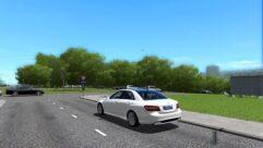 Mercedes-Benz E63 AMG (1.5.9) - City Car Driving мод (изображение 3)