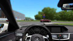 Mercedes-Benz E63 AMG (1.5.9) - City Car Driving мод (изображение 4)