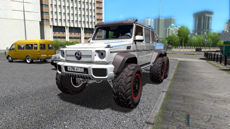 Mercedes-Benz G63 AMG 6×6 (1.5.9) - City Car Driving мод