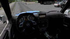 Mercedes-Benz G63 AMG 6×6 (1.5.9) - City Car Driving мод (изображение 2)