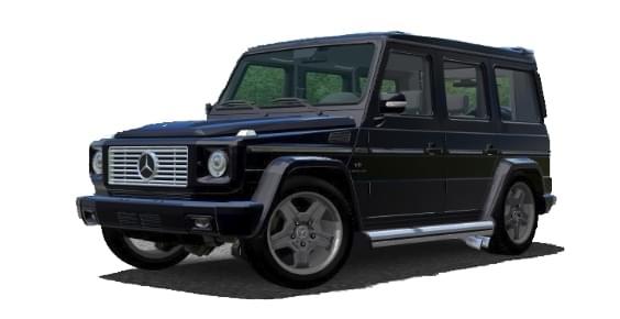 Mercedes-Benz G55 AMG (устаревшая версия) (1.5.9) - City Car Driving мод