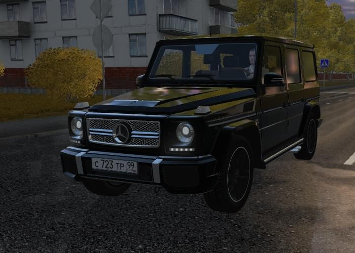 Mercedes-Benz G65 AMG (устаревшая версия) (1.5.9) - City Car Driving мод