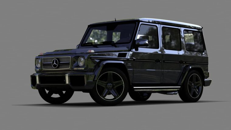 Mercedes-Benz G65 AMG (1.5.9) - City Car Driving мод