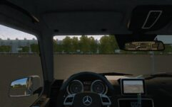 Mercedes-Benz G65 AMG (1.5.9) - City Car Driving мод (изображение 5)