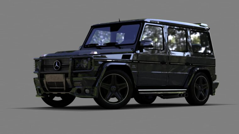 Mercedes-Benz G65 AMG Extra #D (1.5.9) - City Car Driving мод