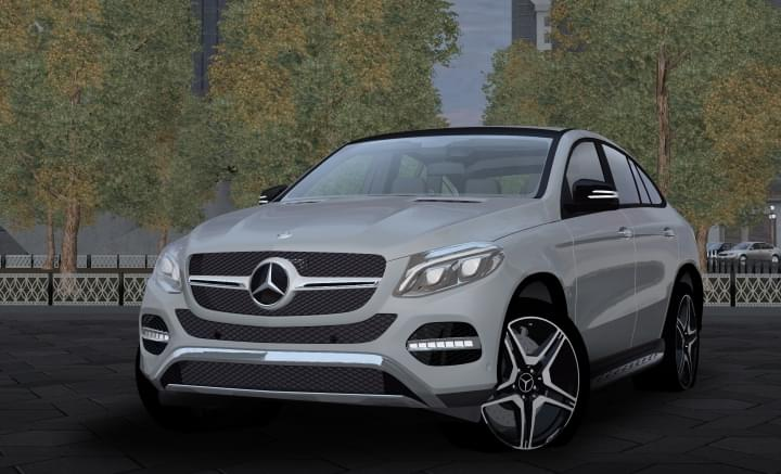 Mercedes-Benz GLE 450 AMG (1.5.9) - City Car Driving мод