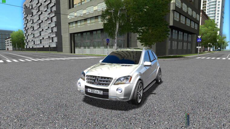 Mercedes-Benz ML 63 AMG (1.5.9) - City Car Driving мод
