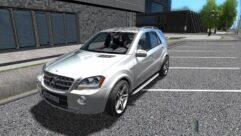 Mercedes-Benz ML 63 AMG (1.5.9) - City Car Driving мод (изображение 2)