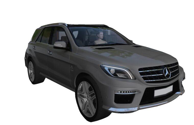 Mercedes-Benz ML63 AMG (1.5.9) - City Car Driving мод