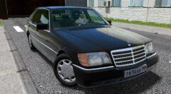 Mercedes-Benz S600 (W140) (устаревшая версия) (1.5.9) - City Car Driving мод