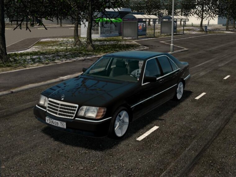 Mercedes-Benz S600 (W140) (1.5.9) - City Car Driving мод