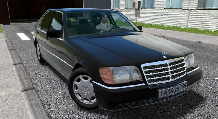 Mercedes-Benz S600 (W140) 94′ (1.5.9) - City Car Driving мод