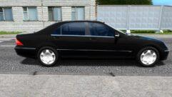 Mercedes-Benz S600 W220 (устаревшая версия) (1.5.9) - City Car Driving мод (изображение 2)