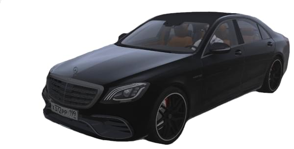 Mercedes-Benz S63 AMG (1.5.9) - City Car Driving мод