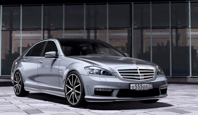 Mercedes-Benz S65 AMG (W221) (1.5.9) - City Car Driving мод