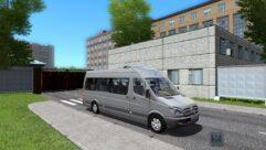 Mercedes-Benz Sprinter 313 CDI (1.5.9) - City Car Driving мод (изображение 2)