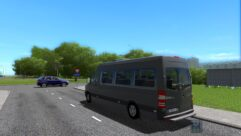 Mercedes-Benz Sprinter 313 CDI (1.5.9) - City Car Driving мод (изображение 3)