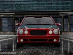 Mercedes-Benz E55 AMG (W210) Restyle (1.5.9) - City Car Driving мод (изображение 3)