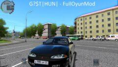 Mitsubishi Eclipse (1.5.9) - City Car Driving мод (изображение 3)