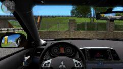 Mitsubishi Lancer X 2008 (1.5.9) - City Car Driving мод (изображение 5)