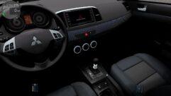Mitsubishi Lancer X 2008 (1.5.9) - City Car Driving мод (изображение 6)