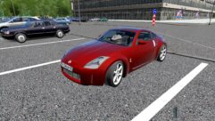 Nissan 350Z (1.5.9) - City Car Driving мод (изображение 4)
