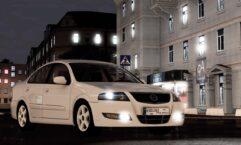 Nissan Almera (1.5.9) - City Car Driving мод (изображение 4)