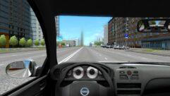 Nissan Almera (1.5.9) - City Car Driving мод (изображение 5)