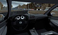 Nissan Almera (1.5.9) - City Car Driving мод (изображение 6)