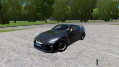 Nissan GT-R 2017 (1.5.9) - City Car Driving мод