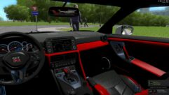 Nissan GT-R 2017 (1.5.9) - City Car Driving мод (изображение 6)