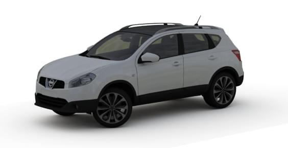 Nissan Qashqai (1.5.9) - City Car Driving мод