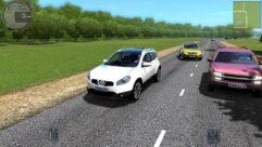 Nissan Qashqai (1.5.9) - City Car Driving мод (изображение 3)