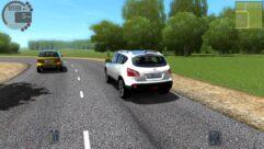 Nissan Qashqai (1.5.9) - City Car Driving мод (изображение 4)