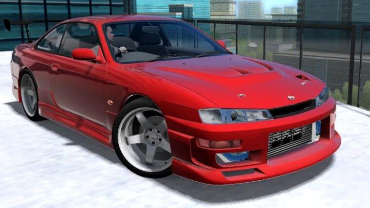 Nissan Silvia S14 (1.5.9) - City Car Driving мод