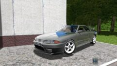 Nissan Skyline GT-R 32 (1.5.9) - City Car Driving мод