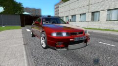 Nissan Skyline GT-R 33 (1.5.9) - City Car Driving мод