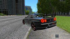 Nissan Skyline GTR V-Spec II (1.5.9) - City Car Driving мод (изображение 2)