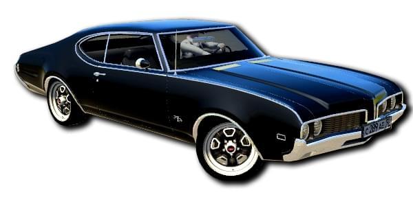 Oldsmobile 442 (1.5.9) - City Car Driving мод