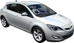 Opel Astra 2010 (1.5.9) - City Car Driving мод