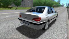 Peugeot 406 (1.5.9) - City Car Driving мод (изображение 2)