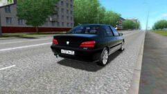 Peugeot 406 (1.5.9) - City Car Driving мод (изображение 5)