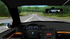Peugeot 406 Taxi Marseille (1.5.9) - City Car Driving мод (изображение 5)