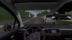 Peugeot 508 (1.5.9) - City Car Driving мод (изображение 4)