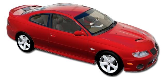 Pontiac GTO 2006 (устаревшая версия) (1.5.9) - City Car Driving мод